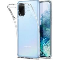 Чехол-накладка на Samsung S20 Plus силикон, ультратонкий, прозрачный