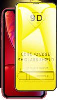 Защитное стекло Apple iPhone 11 на дисплей, 4D, черный