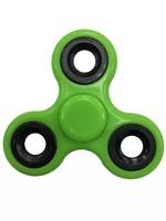 Спиннер, 3 спиц, 1 подш., металл, 7.5*7.5 см, зеленый, черный
