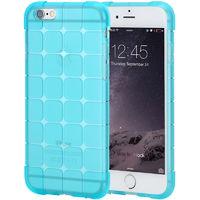 Чехол-накладка на Apple iPhone 5/5S, силикон, куб, голубой