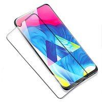Защитное стекло Samsung Galaxy M10 (2019) на дисплей, с рамкой, 4D, черный